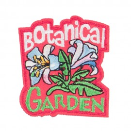 Garden Embroidered Patches