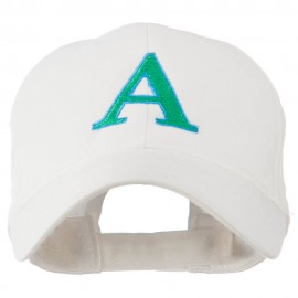 Greek Alphabet Alpha Embroidery Cap
