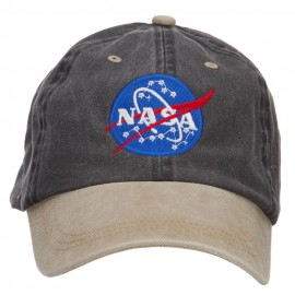 NASA Insignia Embroidered Washed Two Tone Cap