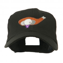 Golf Club and Ball Embroidered Cap
