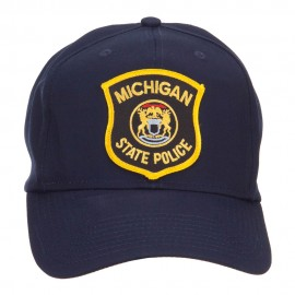 Michigan State Police Patched Cap
