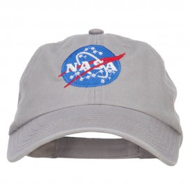NASA Insignia Embroidered Garment Washed Cap