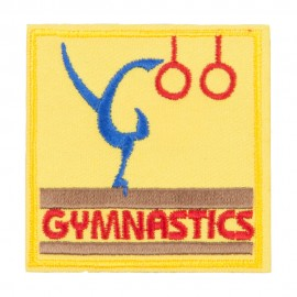 Gymnastics Embroidered Patches