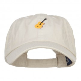 Guitar Embroidered Low Cap