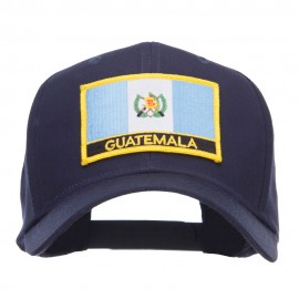 Guatemala Flag Embroidered Patch Cap