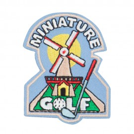 Golf Sport Patches