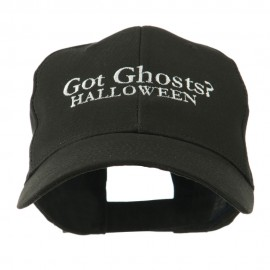 Got Ghosts Halloween Embroidered Cap