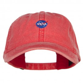 Mini NASA Insignia Embroidered Washed Cap