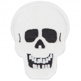 Glow in the Dark Skull Patch