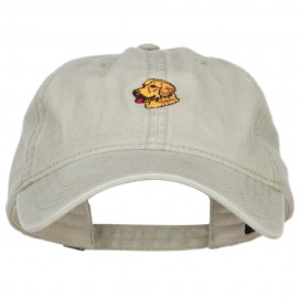 Golden Retriever Embroidered Washed Cap