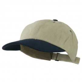 Heavy Brushed Cotton Twill Cap
