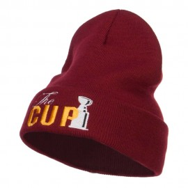 Hockey The Cup Embroidered Long Beanie
