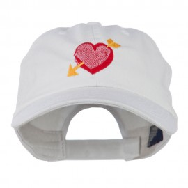 Image of Heart Arrow Embroidered Cap