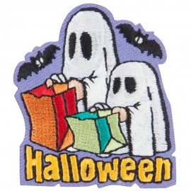 Halloween with Ghost Patches