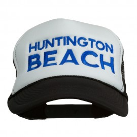 Huntington Beach Embroidered Foam Mesh Back Cap