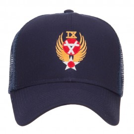 Air Force 9th Command Embroidered Mesh Cap