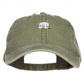 Mini Camper Embroidered Washed Cap