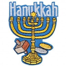 Hanukkah Patch
