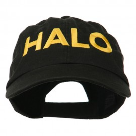 HALO Embroidered Low Profile Washed Cap