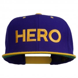 Halloween Hero Embroidered Snapback Cap