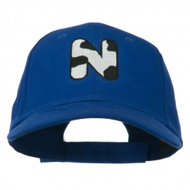 Holstein Alphabet Letter NZ Embroidered Youth Brushed Cap