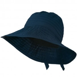 Women's Bucket Shaped Hat with Ribbon