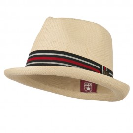Youth Striped Band Fedora