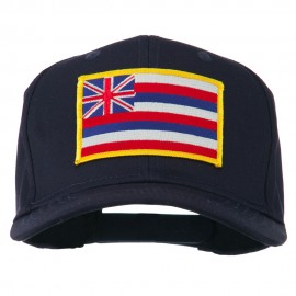Hawaii State High Profile Patch Cap - Navy