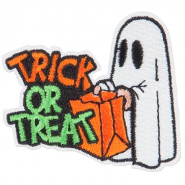 Halloween Trick or Treat Patches