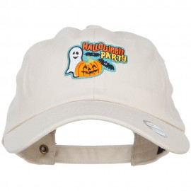 Halloween Party Patched Unstructured Cap