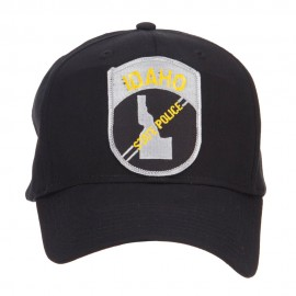 Idaho State Police Patched Cap
