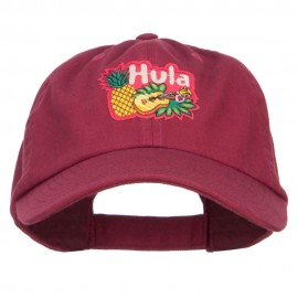 Hawaiian Hula Patched Low Cap