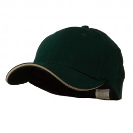Heavy Weight Fitted Cap - Forest Khaki
