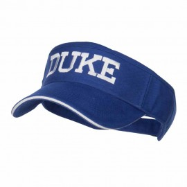 Halloween Duke Embroidered Sandwich Visor