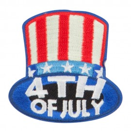 4th of July Celebrate Patches