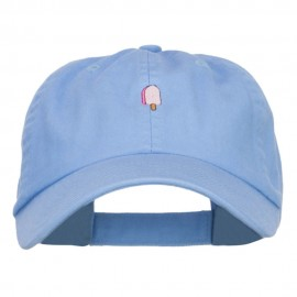 Mini Popsicle Embroidered Low Cap
