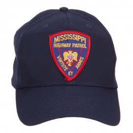 Mississippi State Highway Patrol Patched Cap