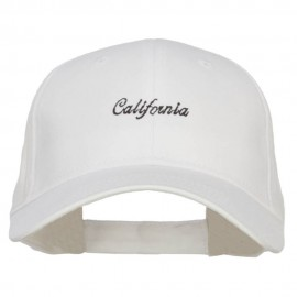 Mini California Embroidered Cotton Cap