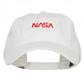 Mini NASA Letter Logo Embroidered Cap