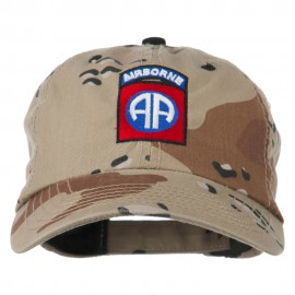 Airborne Embroidered Camouflage Cap