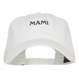 Mami Embroidered Washed Cap