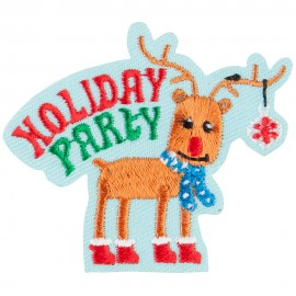 Holiday Party Patch