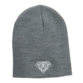 Big Size Diamond Embroidered Short Beanie
