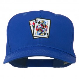 Pinochle Card Game Embroidered Cotton Twill Cap