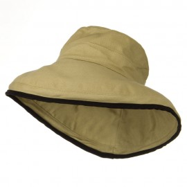 Kettle Canvas 4 Inch Brim Hat