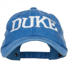 Duke Halloween Character Embroidered Dyed Unstructured Cap