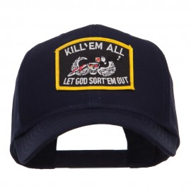 Kill Em All Military Patched Cap
