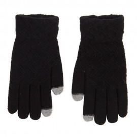 Women's Knit Texting Gloves