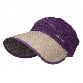 Wrinkle Scarf Roll Up Visor