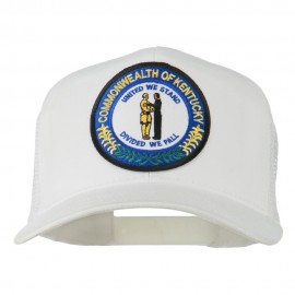 Kentucky State Patched Mesh Cap